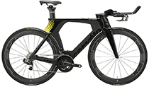 Cervelo P5 E-Tap Triathlonrad 2017 BLACK/YELLOW