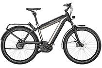 Riese + Müller Supercharger GH vario Cobi 1000Wh E-Bike 2019 UR SILVER MET